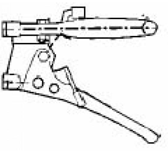Dobb. greb m. 2 spærreklinger - venstre